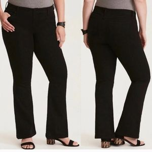 Torrid black denim 22 R